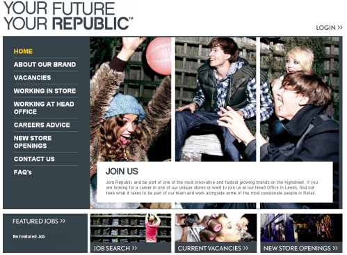 Republic Careers Website